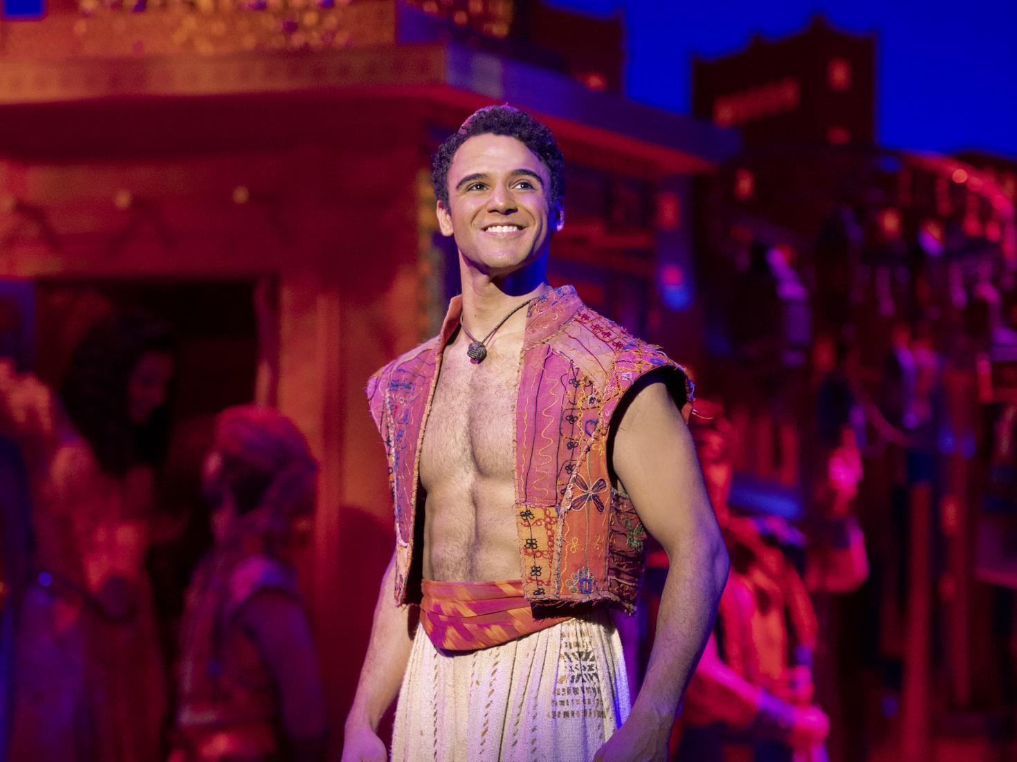 Aladdin's Clinton Greenspan on the Superhero Aspects of His Character | Broadway Buzz | Broadway.com