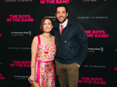 She Loves Me co-stars Laura Benanti and Zachary Levi reunite.
