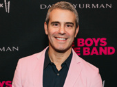Andy Cohen is all smiles.