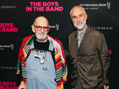 Celebrated American playwright and renowned LGBT rights activist Larry Kramer steps out with husband William David Webster.