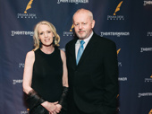 The Iceman Cometh Drama Desk nominee David Morse and his wife Susan Wheeler Duf have arrived.