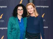 SpongeBob SquarePants director Tina Landau celebrates her Drama Desk win with Joan Allen.