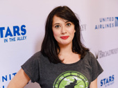 Wicked's talented understudy Mariand Torres hangs outs.