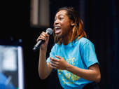 """Once on this Island Hailey Kilgore sings """"Waiting for Life."""""""