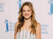 Broadway alum Marin Ireland presented at the Theatre World Awards.