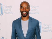 Broadway's Rodney Hicks presented at the 74th annual Theatre World Awards.
