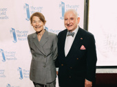 Three Tall Women's Glenda Jackson snaps a photo with the Dorothy Loudon Foundation's Executive Director Lionel Larner.