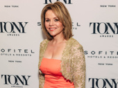Carousel's Renée Fleming is all smiles.