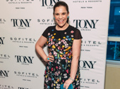 Carousel star and Broadway.com vlogger Lindsay Mendez looks fabulous in floral.