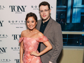 Mean Girls stars Ashley Park and Grey Henson pose together on the carpet.