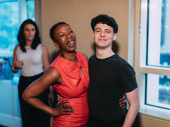 Harry Potter and the Cursed Child's Noma Dumezweni and Anthony Boyle hang out.