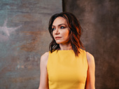 The Band's Visit Katrina Lenk shot by Caitlin McNaney at the 2018 Drama League Awards.