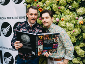 Once On This Island's Tony nominated director Michael Arden with husband Andy Mientus.