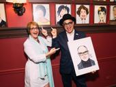 David Yazbek and Patti LuPone goof around.