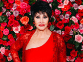 Tony Award Lifetime Achievement recipient Chita Rivera is radiant in red.