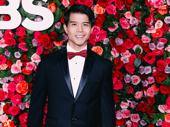 Aladdin's Telly Leung suits up for the 2018 Tony Awards.