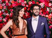 The camera loves 2018 Tony hosts Sara Bareilles and Josh Groban!