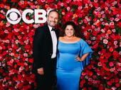 Tony winner Marissa Jaret Winokur hits the red carpet with her husband Judah Miller.