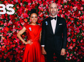 Children of a Lesser God Tony nominee Lauren Ridloff and guest strike a pose.