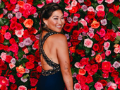 Glee fave and Broadway alum Jenna Ushkowitz strikes a pose.
