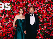 My Fair Lady Tony nominee Nobert Leo Butz and his wife Michelle Federer attend the 72nd annual Tony Awards.