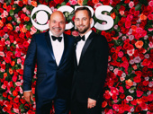 Mean Girls' Tony-nominated director/choreographer Casey Nicholaw celebrates Tony night with Josh Marquette.