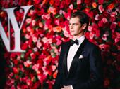 Angels in America Tony nominee Andrew Garfield looks sharp.