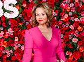 Carousel Tony nominee Renée Fleming looks pretty in pink.