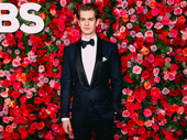 Angels in America's Andrew Garfield suits up for the big night.