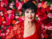 Tony Award Lifetime Achievement recipient Chita Rivera is red carpet ready.