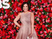 Carousel Tony nominee Lindsay Mendez looks like Broadway royalty.