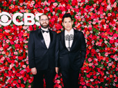 Once On This Island's Tony-nominated costume designer Clint Ramos and Mark Wendland have arrived.