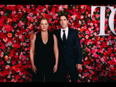 Meteor Shower Tony nominee Amy Schumer and her husband Chris Fischer have arrived.