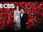 Mean Girls couple Tina Fey and Jeff Richmond attend the 72nd annual Tony Awards as nominees.