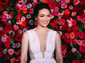 The Band's Visit nominee Katrina Lenk wows in white.