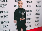 The Band's Visit's Jamshied Sharifi wins the Tony Award for Best Orchestrations.