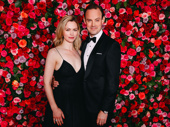 My Fair Lady Tony nominee Harry Hadden-Paton and his wife Rebecca Night attend the 72nd annual Tony Awards.