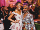 Once On This Island star Hailey Kilgore poses with Cynthia Erivo at The Plaza.