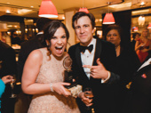 Carousel Tony winner Lindsay Mendez parties with Tony winner Gavin Creel.