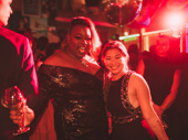 Once On This Island star Alex Newell and Jenna Ushkowitz have a mini Glee reunion.