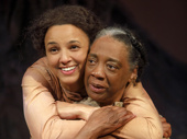 Tiffany Rachelle Stewart as Mattie and Stephanie Berry as Aunt Mama in Sugar in Our Wounds.