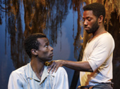 Sheldon Best as James and Chinaza Uche as Henry in Sugar in Our Wounds.