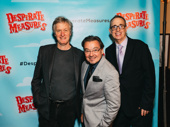 Desperate Measures scribe Pater Kellogg, director Bill Castellino and composer David Friedman celebrate their show.