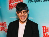Upcoming Be More Chill star George Salazar makes an appearance.