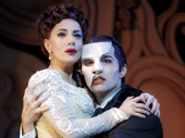 Meghan Picerno as Christine Daaé & Bronson Norris Murphy as The Phantom in the national tour of Love Never Dies.