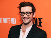 Torch Song star Michael Urie is all smiles.