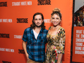 I'm Dying Up Here stars Michael Angarano and Ari Graynor hit the red carpet.