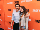 Actor James Franco steps out with girlfriend Isabel Pakzad to support friend and Straight White Men star Armie Hammer.