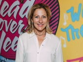 Tony nominee and Emmy winner Edie Falco attends the Broadway opening of Head Over Heels.
