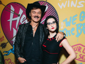 Randy Jones and Rachel Klein enjoy Head Over Heels' opening night.